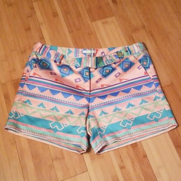 Jade Pants - NWT Jade Melody Tam sz 8 ikat geo print shorts
